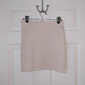 Silence+Noise Soft Stretch Mini Skirt Creamy White